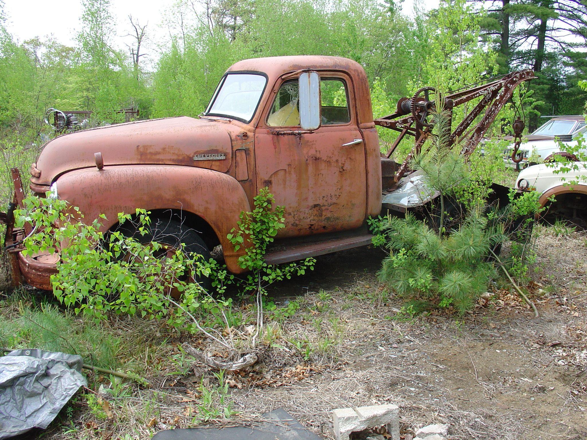 Bellingham Auto Sales Trucks 1951 Chevrolet Dump Truck Wrecker